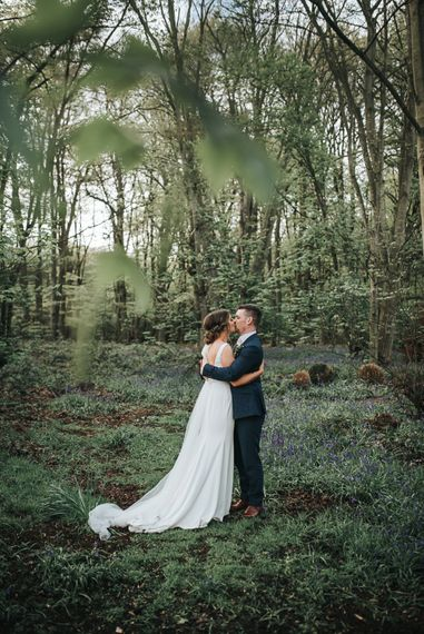 Blush Pink and Copper | RMW The List Members Hazel Gap Barn, Nottinghamshire | Mikaella Bridal Gown | Pear and Bear Photography