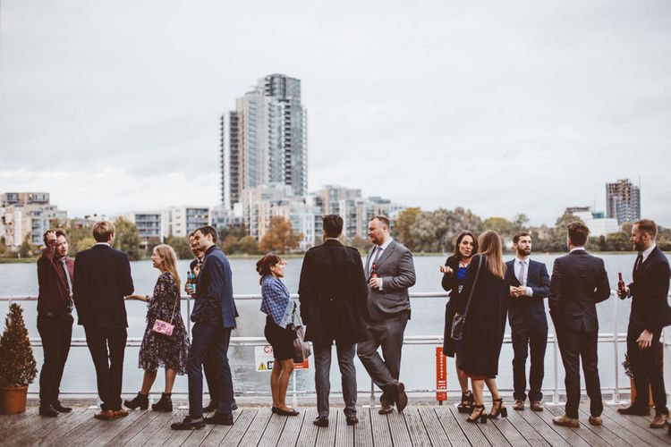 Wedding Guests | Autumn City Wedding at Clissold House,  West Reservoir Centre | A Thing Like That Photography