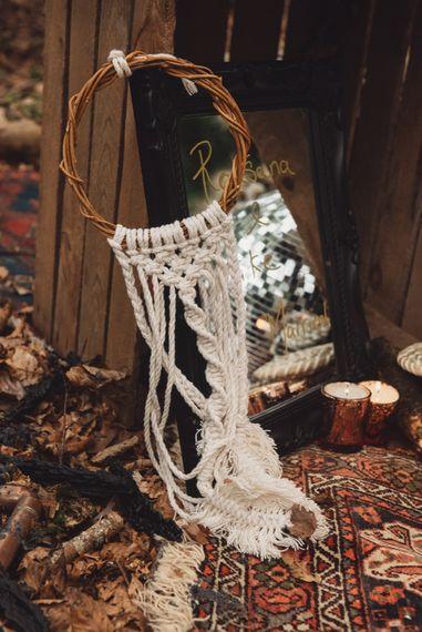 Macrame Wedding Decor