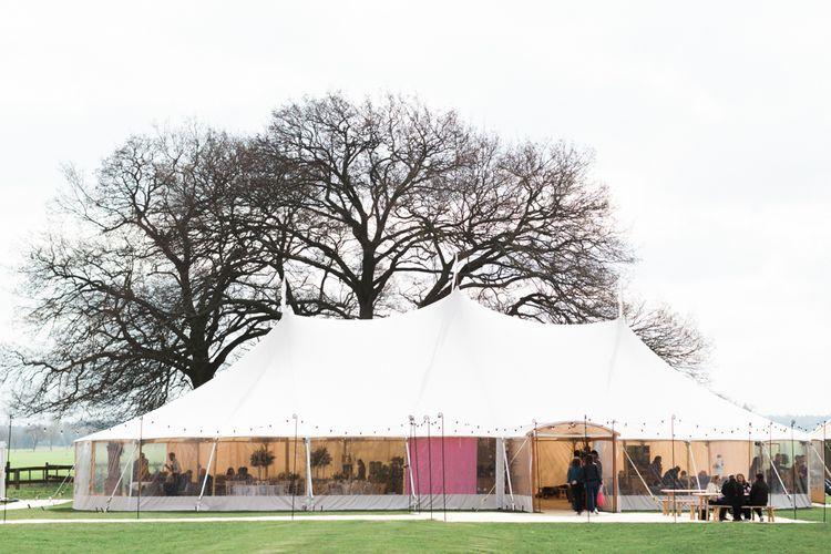 PapaKåta Sperry Tent Wedding