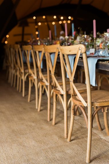Wooden Reception Chairs