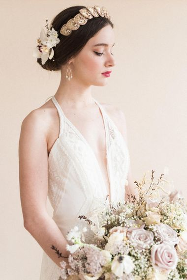 Beautiful Bride | Sophisticated Pastel Wedding Inspiration from Jean Jackson Couture | Emma Pilkington Photography