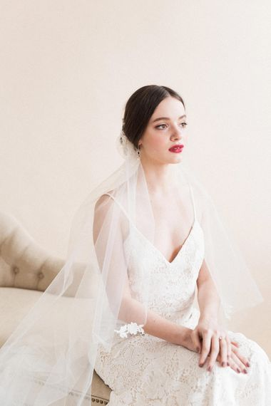 Timeless Bridal Beauty | Sophisticated Pastel Wedding Inspiration from Jean Jackson Couture | Emma Pilkington Photography