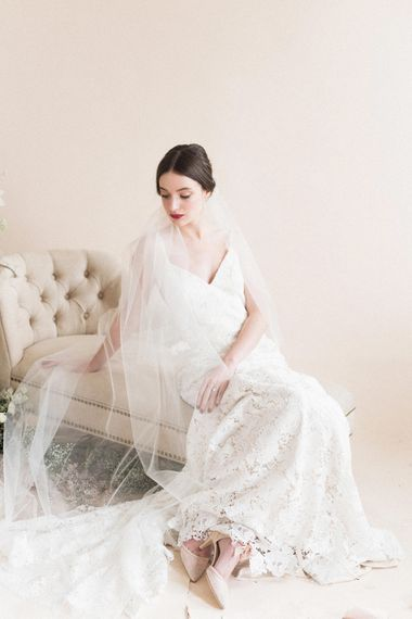Timeless Bride | Sophisticated Pastel Wedding Inspiration from Jean Jackson Couture | Emma Pilkington Photography