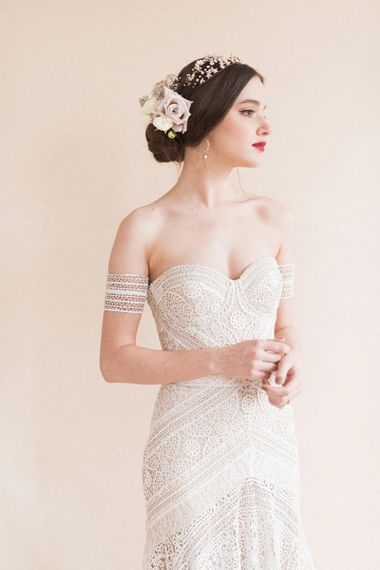 Rue De Seine Bridal Gown | Sophisticated Pastel Wedding Inspiration from Jean Jackson Couture | Emma Pilkington Photography