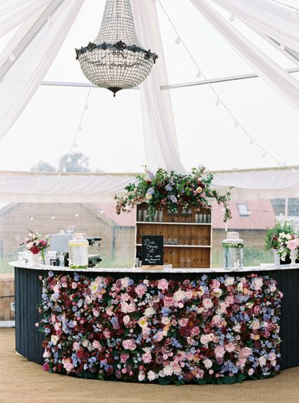 Floral Bar For Wedding