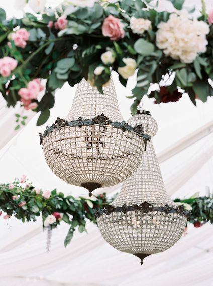 Chandeliers For Marquee Wedding