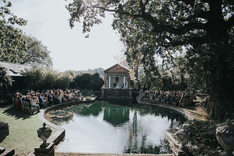 Outdoor Wedding Ceremony at Micklefield Hall