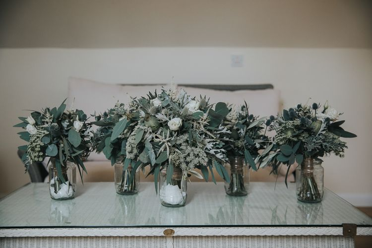 Foliage Wedding Bouquets