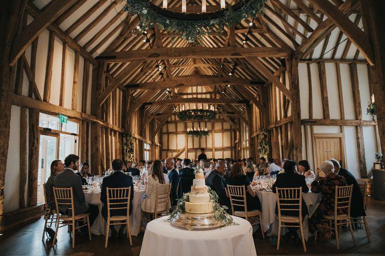 Barn Wedding Reception Decor