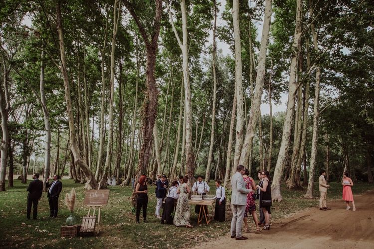 Outdoor Woodland Wedding at Sa Farinera de Sant LLuis Wedding Venue, Catalan Empordà, Spain | Planned & Styled by Mille Papillons | HUMà06 Photography | HUMà06 Photography