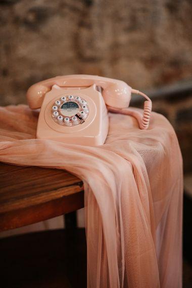 Retro Pink Telephone