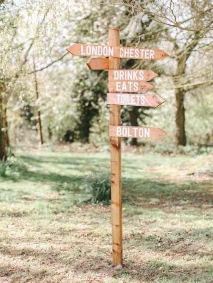 Signs // Handmade Details // Entertainment // Charlie Brear Bride // Pimhill Barn, Shrewsbury // Belle and Beau Fine Art Wedding Photography