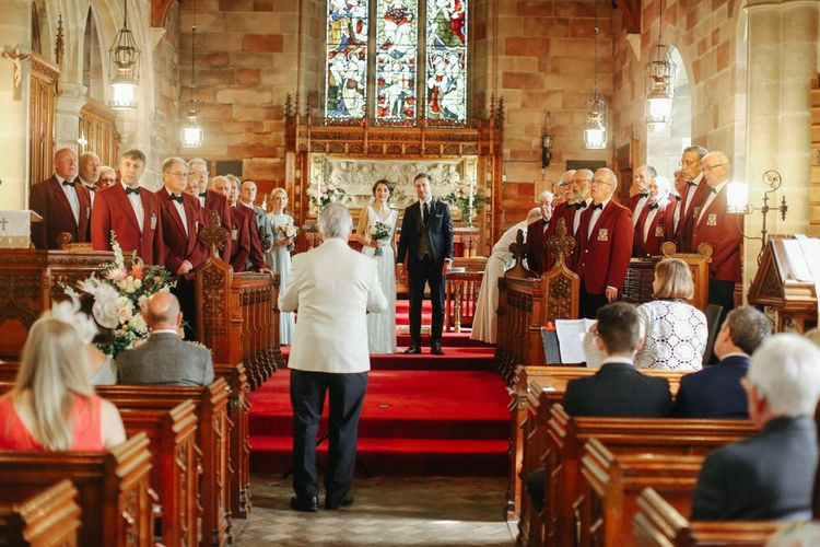 Church Ceremony // Handmade Details // Entertainment // Charlie Brear Bride // Pimhill Barn, Shrewsbury // Belle and Beau Fine Art Wedding Photography