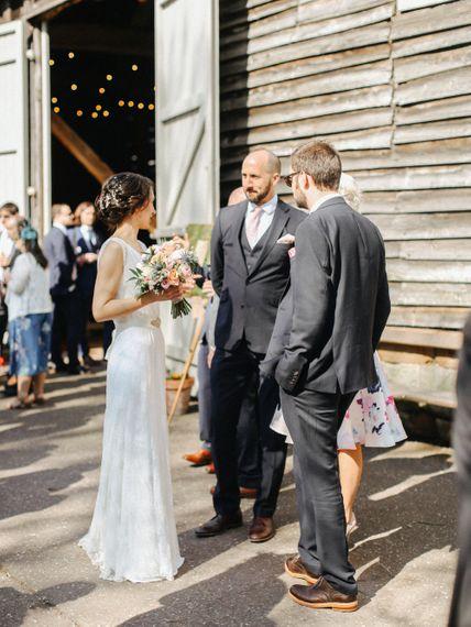 Homemade Country Wedding // Entertainment // Charlie Brear Bride // Pimhill Barn, Shrewsbury // Belle and Beau Fine Art Wedding Photography