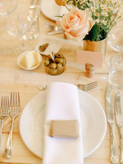 Table Decor // Homemade Country Wedding // Entertainment // Charlie Brear Bride // Pimhill Barn, Shrewsbury // Belle and Beau Fine Art Wedding Photography