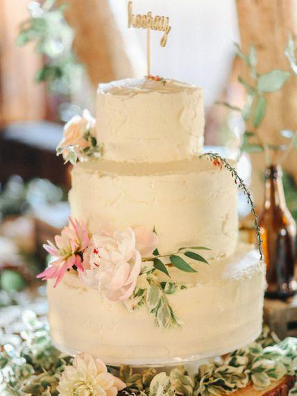 Cake // Handmade Details // Entertainment // Charlie Brear Bride // Pimhill Barn, Shrewsbury // Belle and Beau Fine Art Wedding Photography