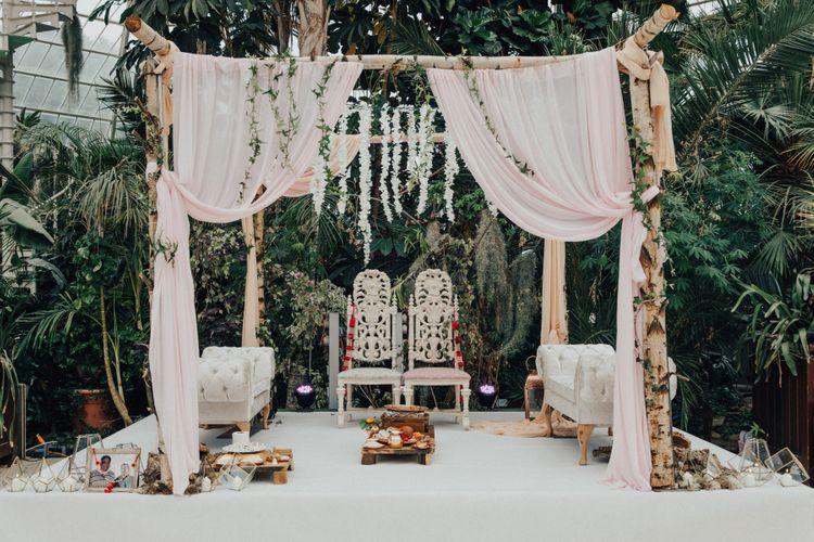 Indian Mandap Wedding Ceremony Canopy