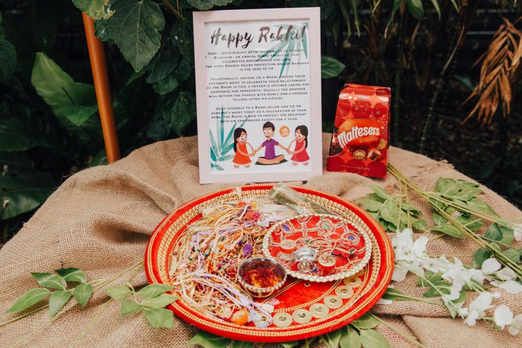 Happy Rakhi Wedding Ceremony Props
