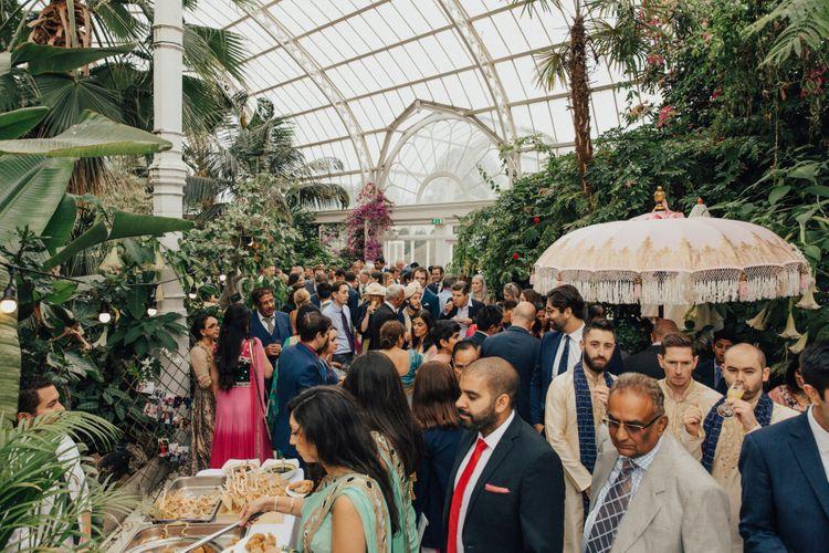 Hindu Wedding at Sefton Park Palm House, Liverpool