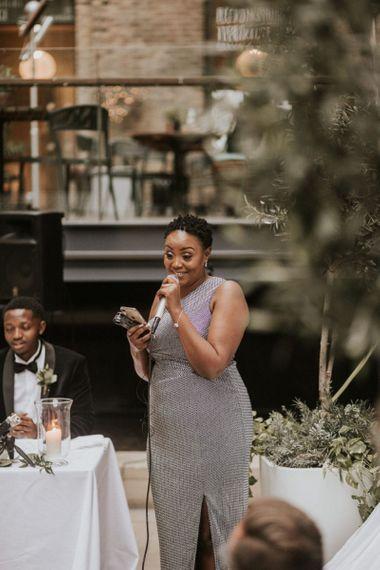 Mother of the Bride wedding speech at Devonshire Terrace wedding