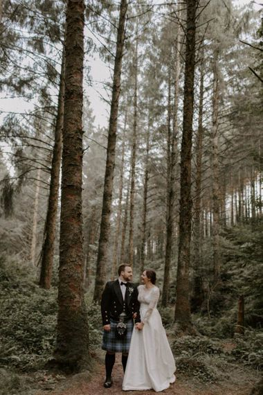 Cardinham Woods Wedding Portraits
