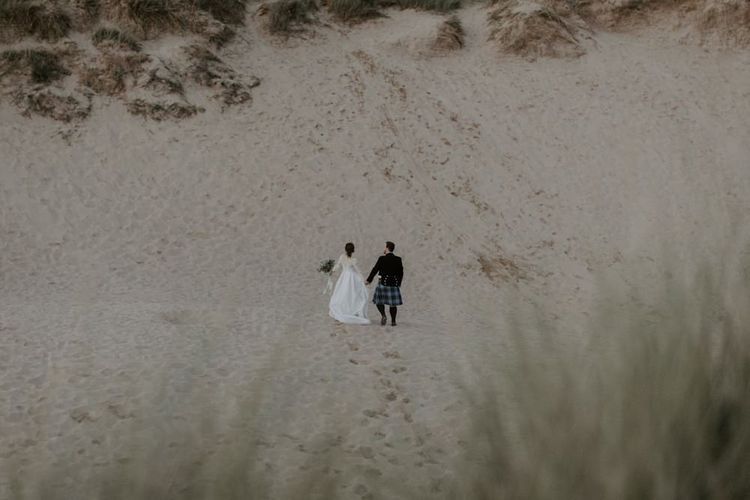 Holywell Bay Couple Portrait Shots