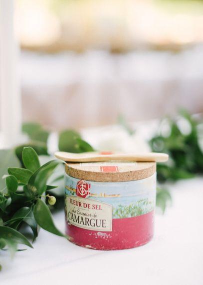 Fleur de Sel Le Saunier De Camargue Salt Wedding Favour