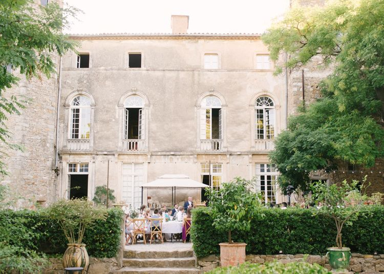 Wedding at Chateau d'Agel the Loire in France