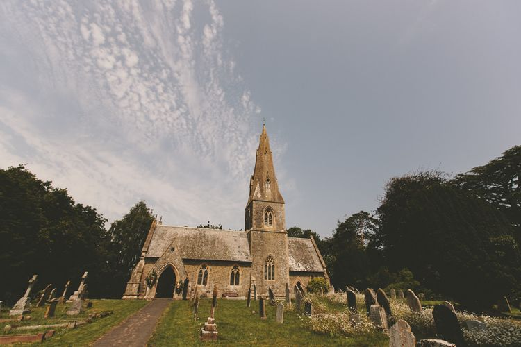 Devonshire church for wedding ceremony