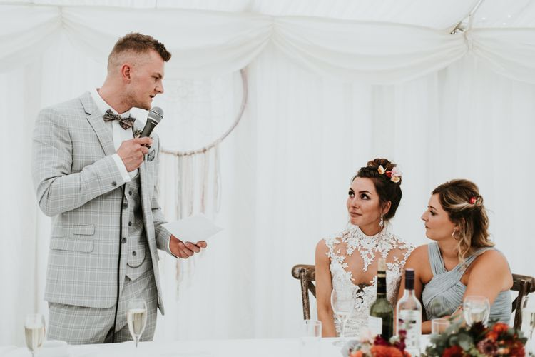 Marquee Wedding with Dream Catcher