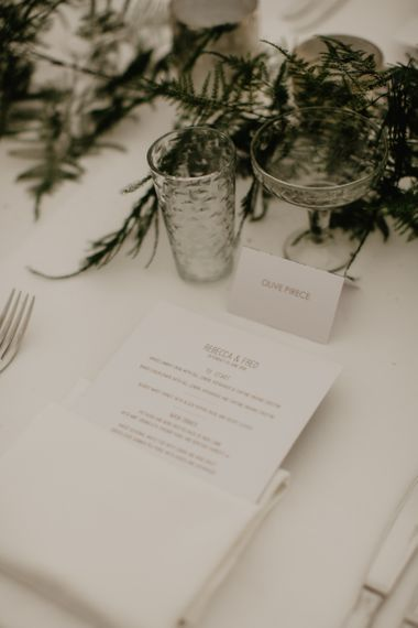 Wedding Stationery Table Decor