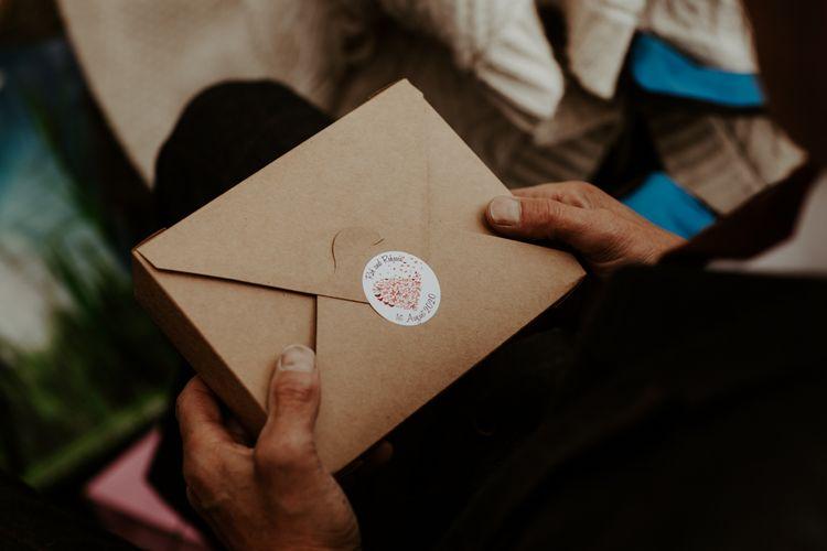 Individual picnic boxes for COVID wedding at Eden Barn