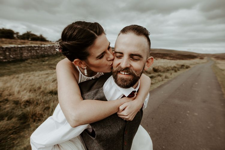 Wedding photography by Jo Greenfield for Eden Barn, Lake District wedding