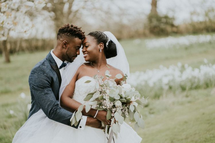 Spring wedding at Northamptonshire wedding venue