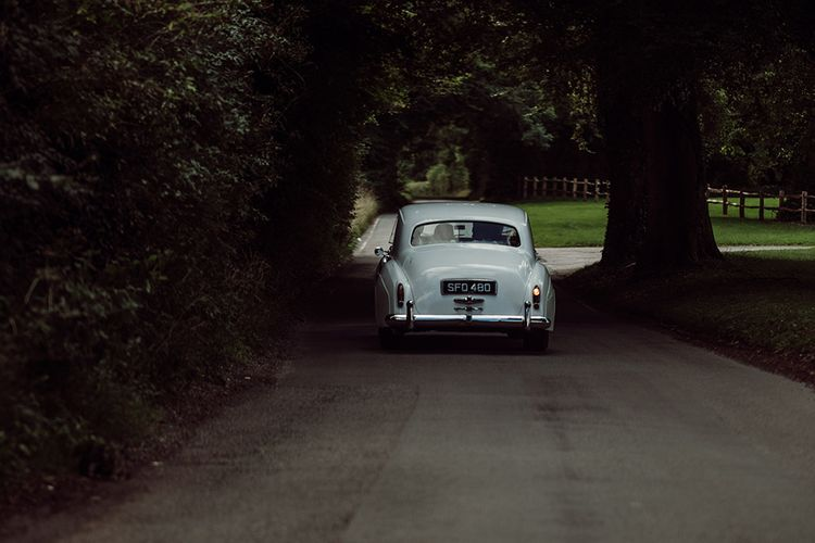 Wedding Transport from Just Rolls | Traditional Wedding at Lainston House Hotel, Hampshire | RMW The List Supplier Jason Mark Harris Photography