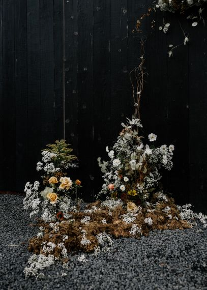 Dried Wedding Floral Arrangement