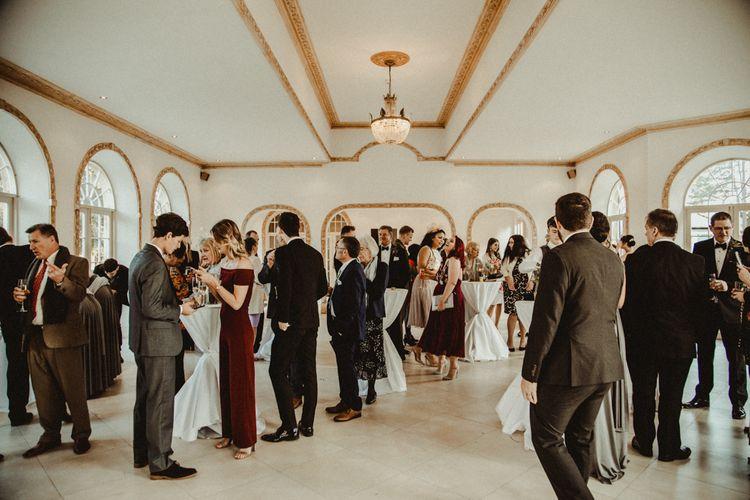 Drinks Reception at Northbrook Park Wedding Venue