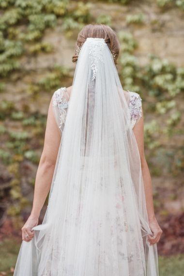 Megan Therese Couture Tulle Wedding Veil
