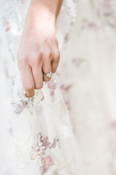 London Victorian Ring Co. Diamond Engagement Ring