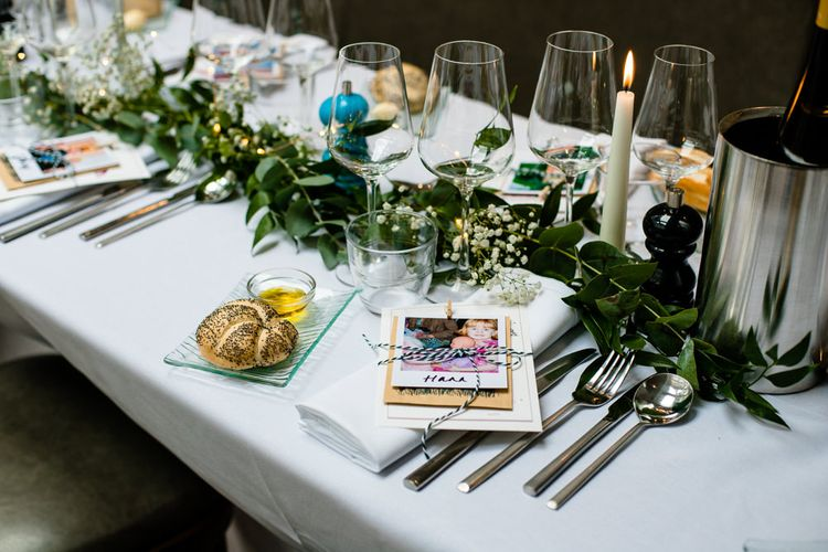 Polaroid Picture Place Setting
