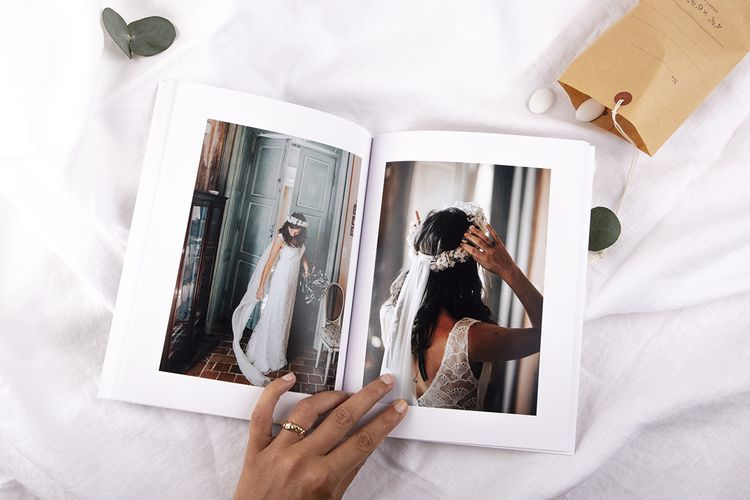 Softcover Wedding Photo Book by Rosemood