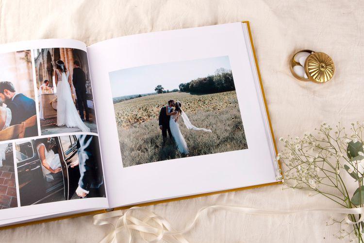 Wedding Photo Album Book by Rosemood