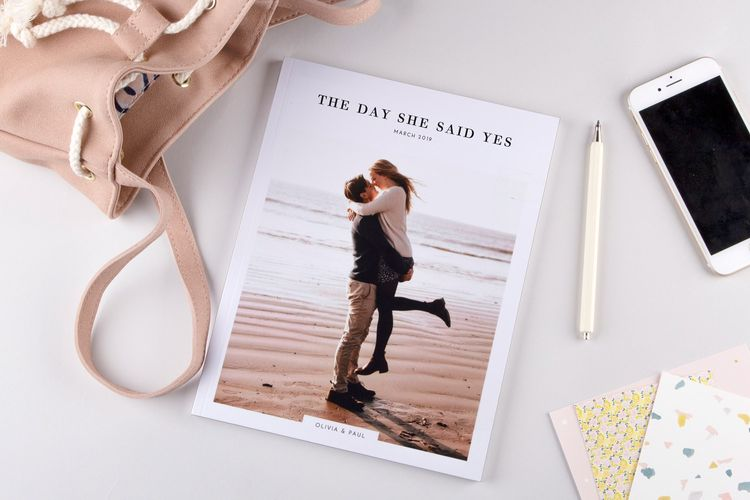 Engagement Wedding Photo Album Book by Rosemood