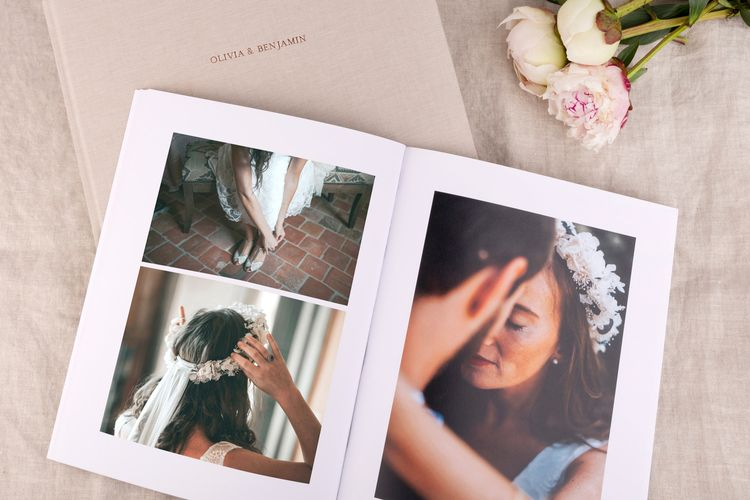 Hardcover Photo Album Book by Rosemood