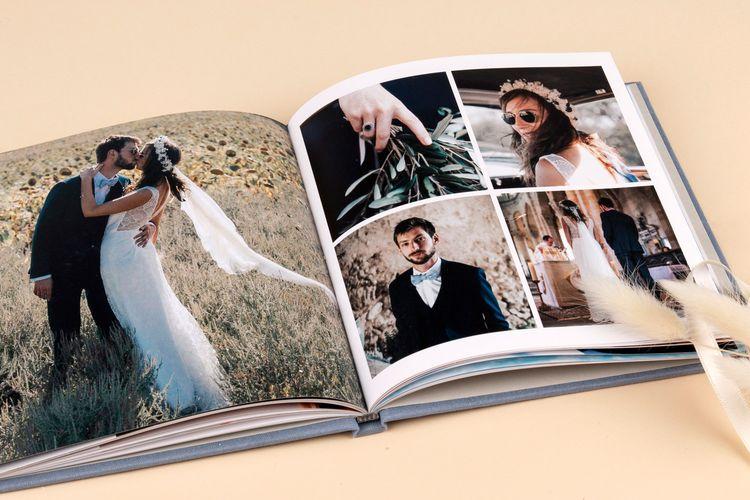 High Quality Wedding Photo Album Book by Rosemood