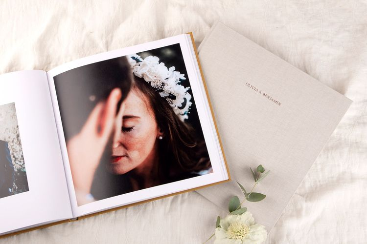 Personalised Wedding Photo Album Book by Rosemood