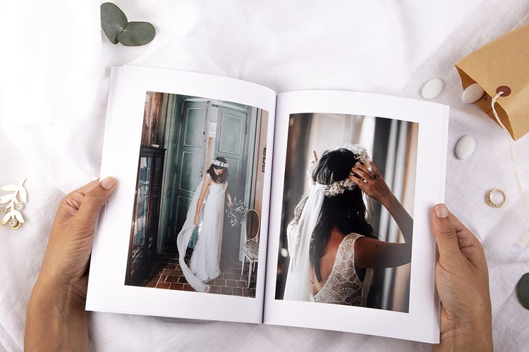 Softcover Wedding Photo Album Book by Rosemood