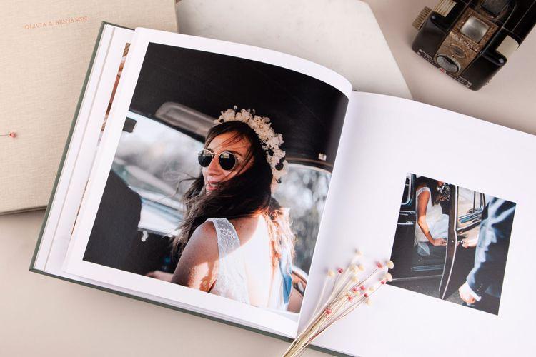 Wedding Photo Book by Rosemood