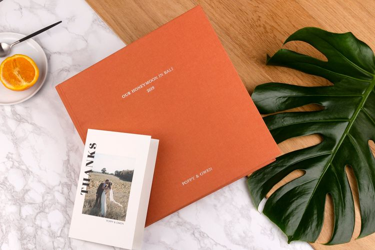Honeymoon Photo Album Book by Rosemood
